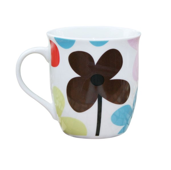 Mug 1: Mug with flower design