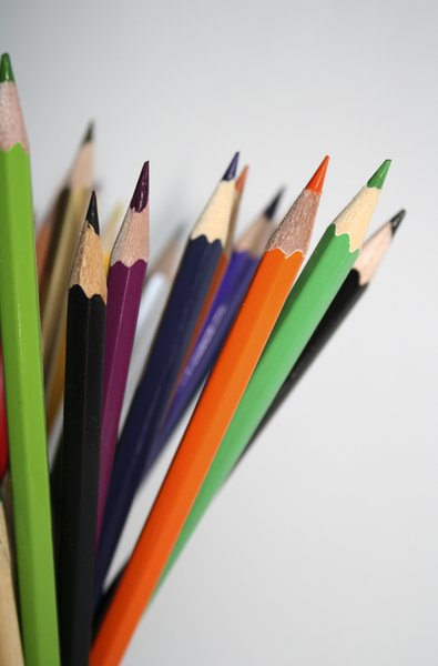 color pencils: color pencils