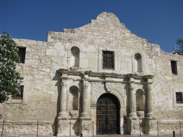 Remember the Alamo! 4: Some shots taken of the Alamo, San Antonio, Texas. Great place, glad I got to see it!