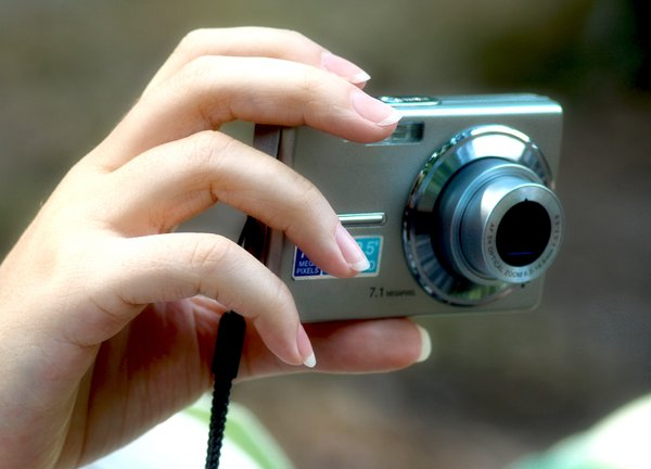 photogpapher: hand with camera
