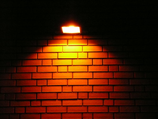 White Brick Wall Lights : Glass Brick Wall LED Light Landscape Lighting Specialist - Wall lights, LED bathroom & bedroom ...