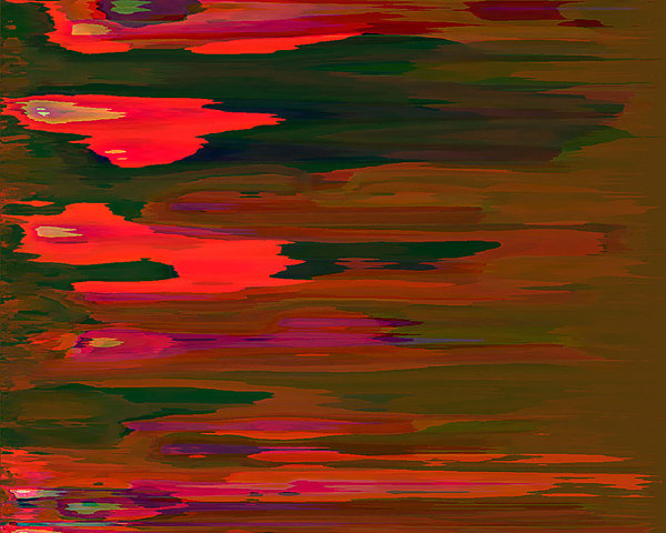 abstract sunset: anstract sunset