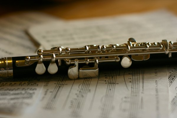 Piccolo Flute: Picolo Flute and sheet music, ideal for any music lover, music website or screen saver