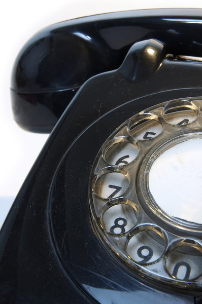 Old telephone 7: ...