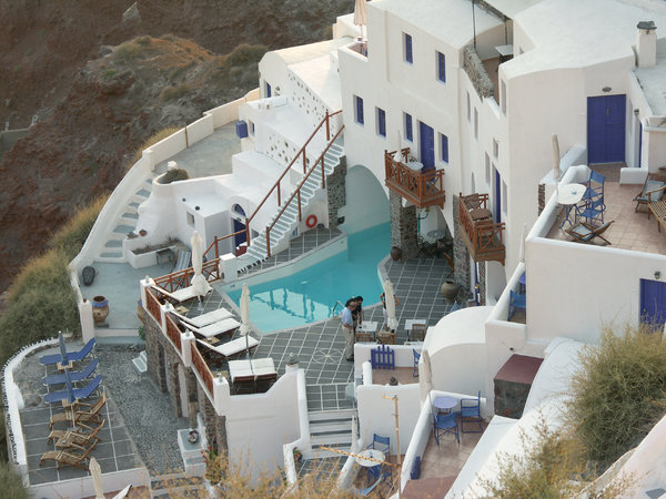 House in Oia: House in Oia, Santorini, Greece