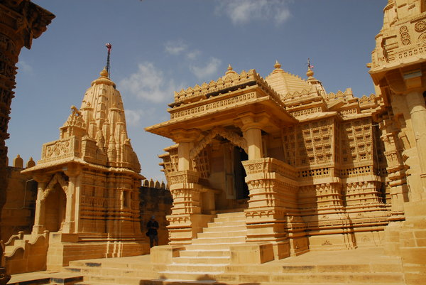 Incredible India: Jain Temple in Lodurva, former capital of Rajastan, India