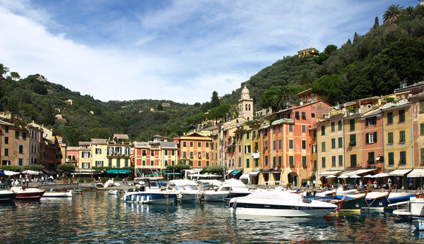 Portifino Itlay: Small village of portofino, italy where a lot of stars remain