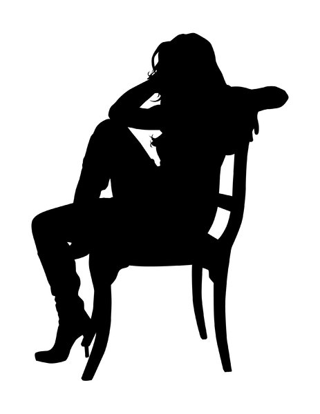 Sitting Silhouette | Free stock photos - Rgbstock -Free stock images ...