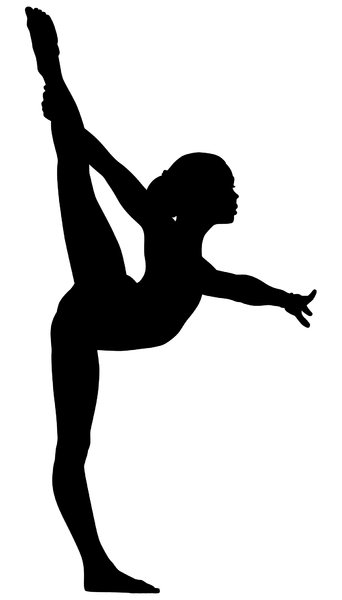 Gymnast1: Vector Art