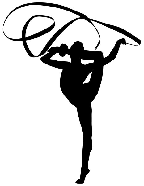 Gymnast3: Vector Art