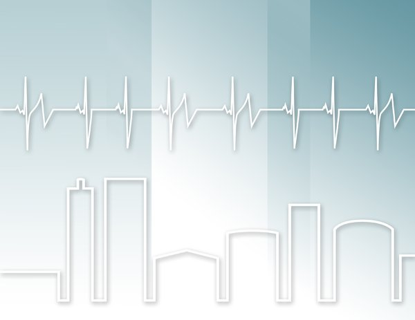 Heart beat of a city: Background 5