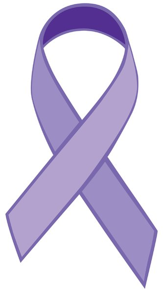 Single Ribbon Purple: Purple vector Ribbon