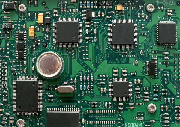 Printed Circuit Board Stock Vector Image 51724695