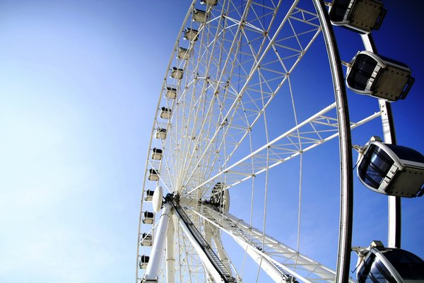 Eye Series 4: Giant ferris wheel also known as Eye On Malaysia