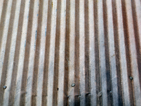 Corrugated Metal: Corrugated metal roof.