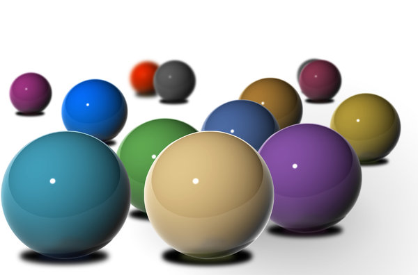 Balls with a Concept 3: 3D balls in arrangement to depict  multiple concepts like:FAMILY,FRIENDS,TEAM/CROWD