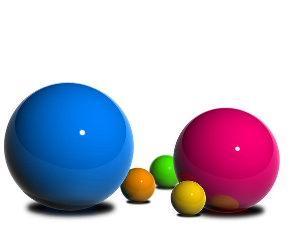Balls with a Concept 1: 3D balls in arrangement to depict  multiple concepts like:FAMILY,FRIENDS,TEAM/CROWD