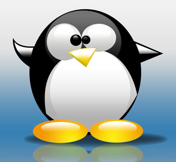 Tux Illustration: The cute little Penguin that everybody loves
