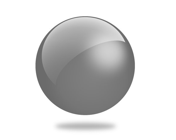 Glossy Ball 5: Set of different colored gloss ball illustrations