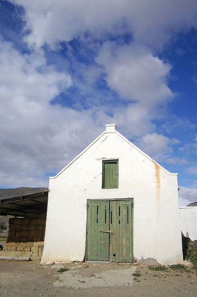 Barn: Shot in Prince Albert, Karoo, South Africa.NB: Credit to read