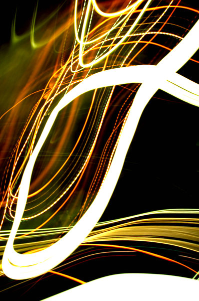 Squggly Lights II: More light effects - the last one seems popular...NB: Credit to read