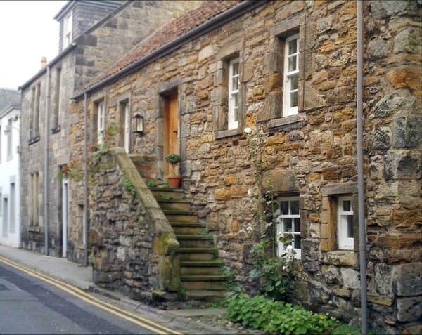 Old house: Old house in St Andrews, Scotland