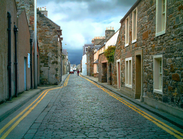 Streets of St Andrews 2: St Andrews, Fife, Scotland