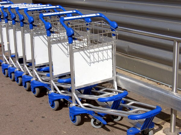 baggage carts: baggage carts
