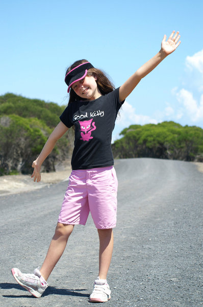 Happy Child: My daughter in her usual 'Happy go Lucky' mood. Yayy Cass! Cassie Loves Comments :)