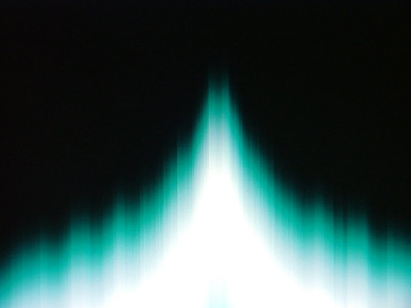 Music visualisation1: What I see when I listen to some music.