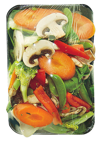Vegetables: Packs of Fresh Vegies