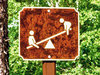 Signs in the woods