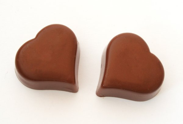 chocolate hearts: yummy