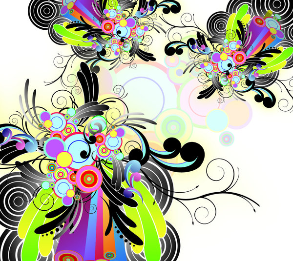 Abstract design element backgr: visit my site ozaidesigns.com for more of my free illustrations!A colorful abstract background.please comment/send me links!