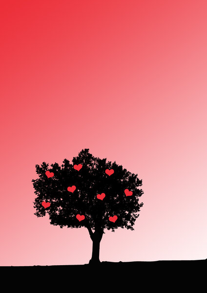 Love grows on trees: Love grows on trees