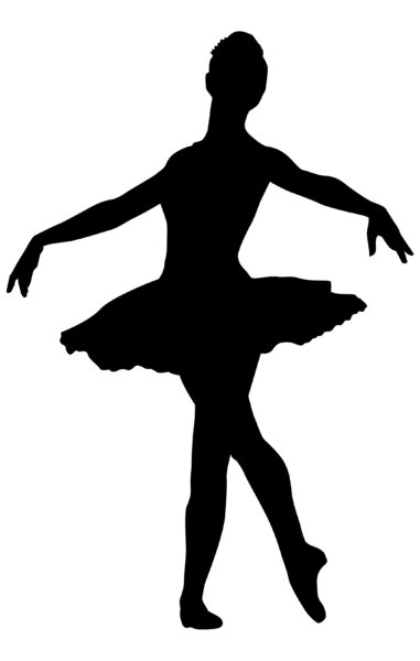 Ballerina 3: Vector Art