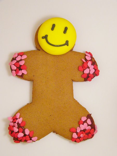 Be Mine, Valentine: Gingerbread man from Tim Horton's, Nova Scotia, Canada
