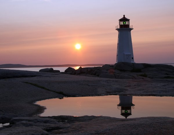 Peggy's Cove: Sunset