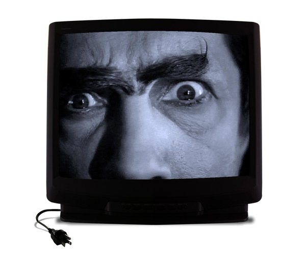 Spooky TV - Mad Scientist: I love the evil stare and crazy eyebrows!
