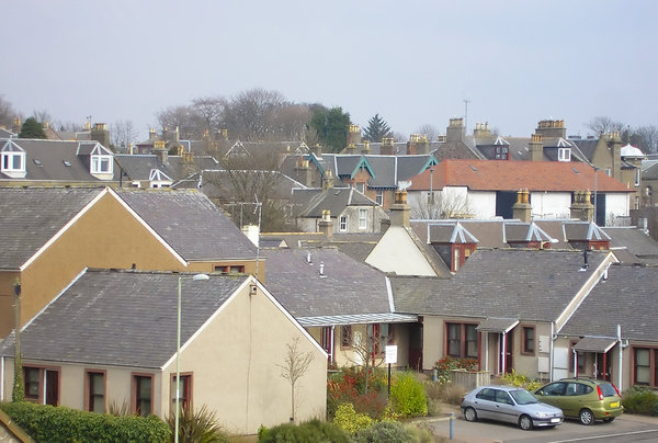 Scottish town: Carnoustie, Angus, Scotland