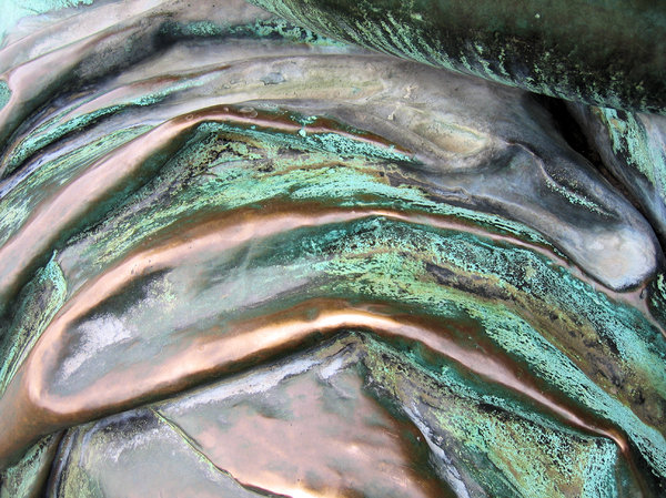 abstract bronze texture: abstract bronze texture