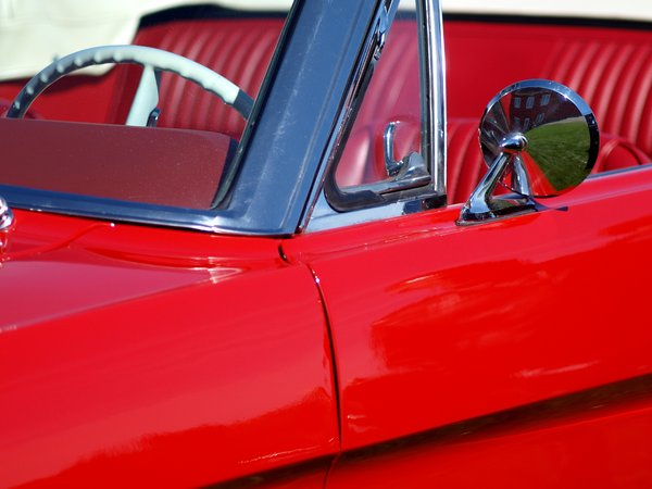Classic sportscar: Details from classic sportscars