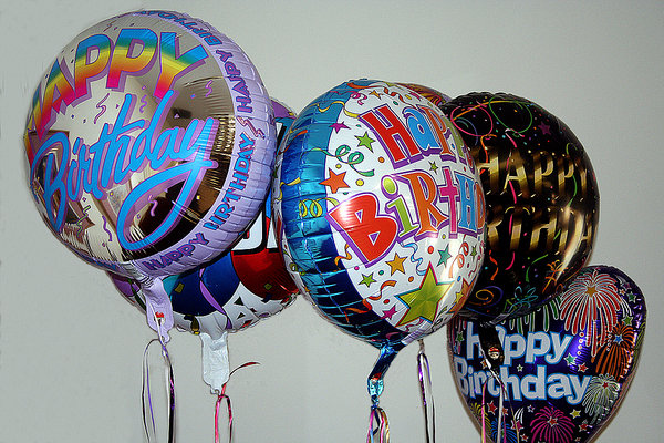 FANNY'S BIRTHDAY BALLOONS: AT FANNY'S 99th BIRTHDAY PARTY