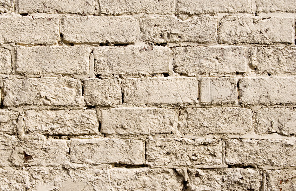 White Brick Wall 2: Painted brick wall texture.  Lots of copy space.