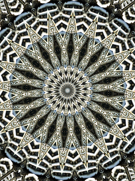 arabesque: abstract backgrounds, textures, patterns, geometric patterns, kaleidoscopic patterns, circles, shapes and  perspectives from altering and manipulating images