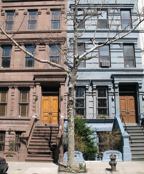 Brownstone: New York Brownstone.