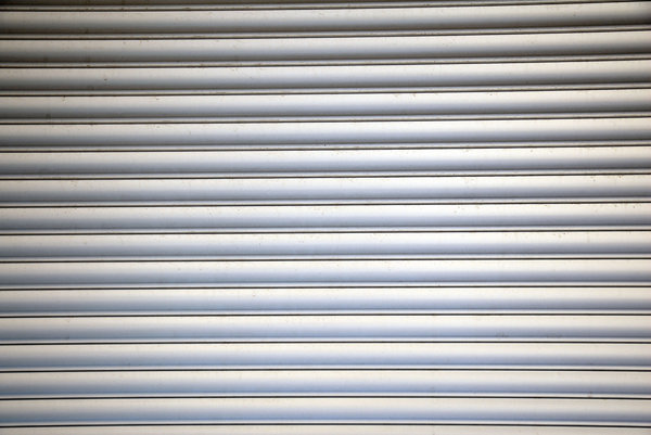 Corrugated Metal: Corrugated metal.