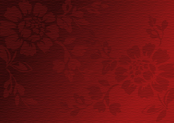 Floral background 3: Floral background in 3 color versions