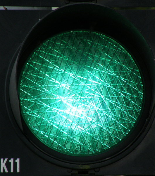 green: traffic light...
