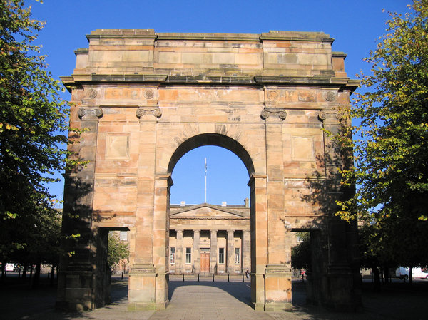 victorian arches: victorian arches - architecture in Glasgow, Scotland